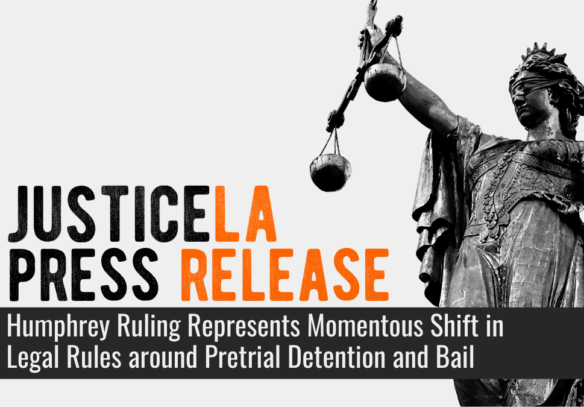 JusticeLA Statement